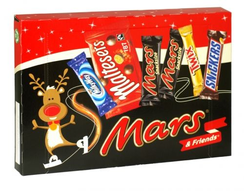 Mars & friends christmas selection box