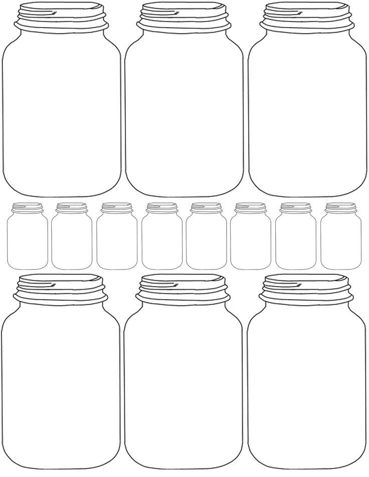 225 best Free Mason Jar Printables images on Pinterest | Mason