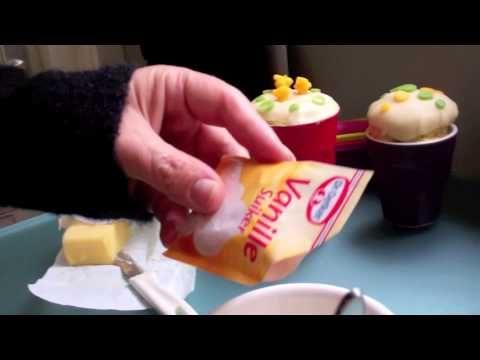 kinderkoken: kopje cake (cupcake)