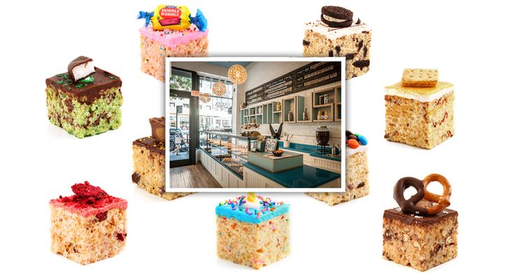Treat House Has Some Amazing Rice Krispie Variations Recipes NYC Upper West Side Desserts MiTC