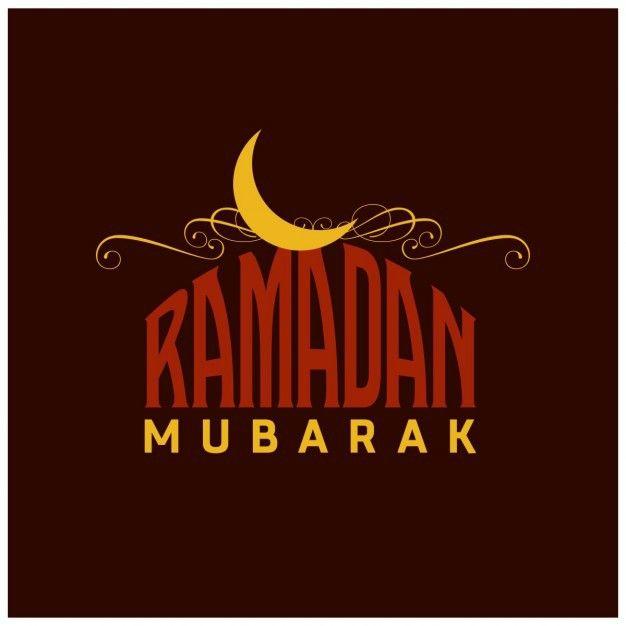 Ramadan background with yellow moon on Behance