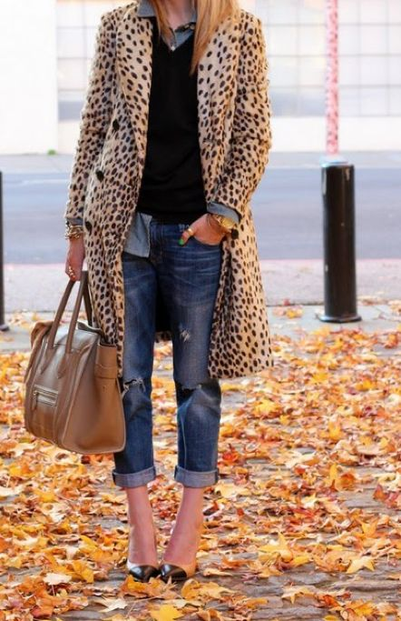 a leopard coat- always C H I C. Buy it now. MAGNIFICENT. Last chance for the season. Available in size small, also fits a medium. Brand new with tags. ships worldwide.