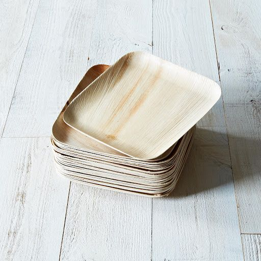 Verterra Compostable Dinnerware From Fallen Leaves, Set of 25 on Provisions by Food52