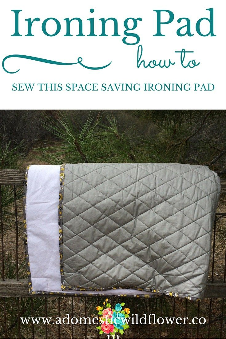 Best 25+ Ironing pad ideas on Pinterest | Mini ironing board ... : quilted ironing board cover - Adamdwight.com