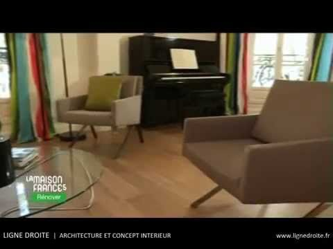 Rénover : LIGNE DROITE sur La maison France 5