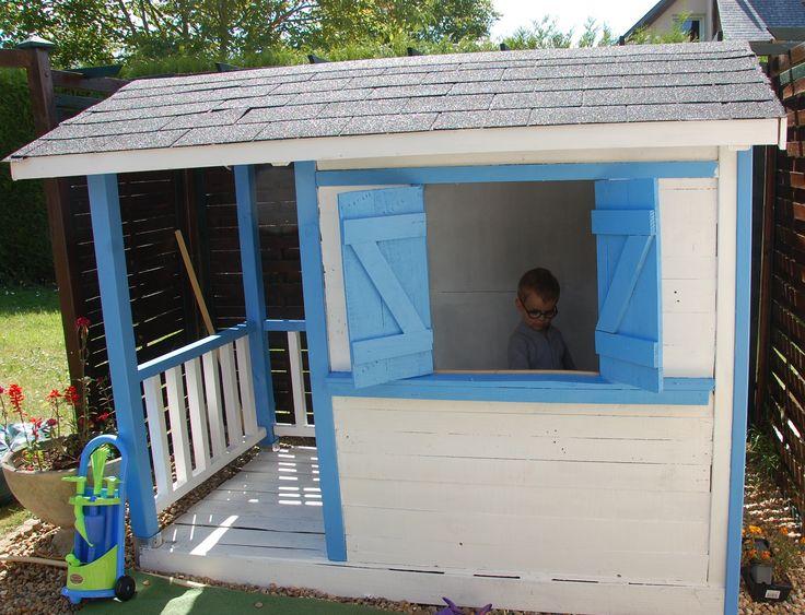 cabane d'enfants Instructions de montage...