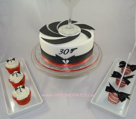 James Bond Themed 30th Birthday