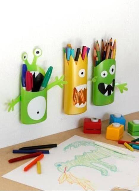 Jak z butelek zrobić organizery, które rozweselą pokój Twojego dziecka?