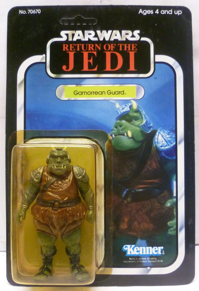 VINTAGE 1983 KENNER Star Wars Return of the Jedi Gamorrean Guard Figure MOC RARE #Kenner