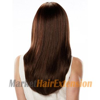 Red Clip in Hair Extensions by Our site made with 100% Human Remy Hair.