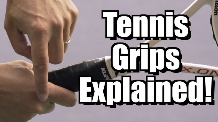 http://www.essentialtennis.com Ever wonder exactly what each of the tennis grips are exactly? In this video lesson I'll go over the continental, eastern fore...