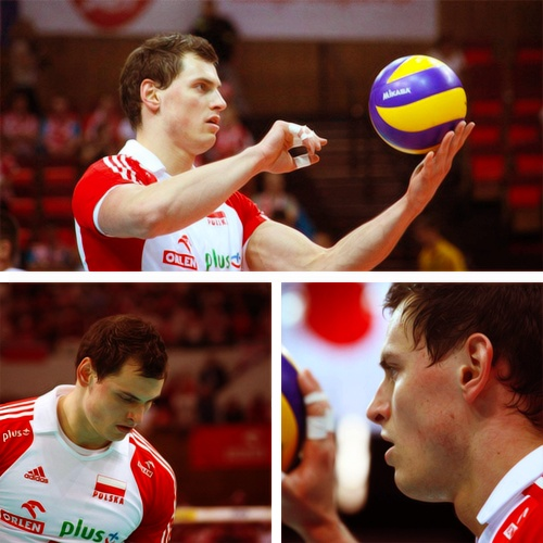 Zbigniew Bartman. Polish Volleyball Player.