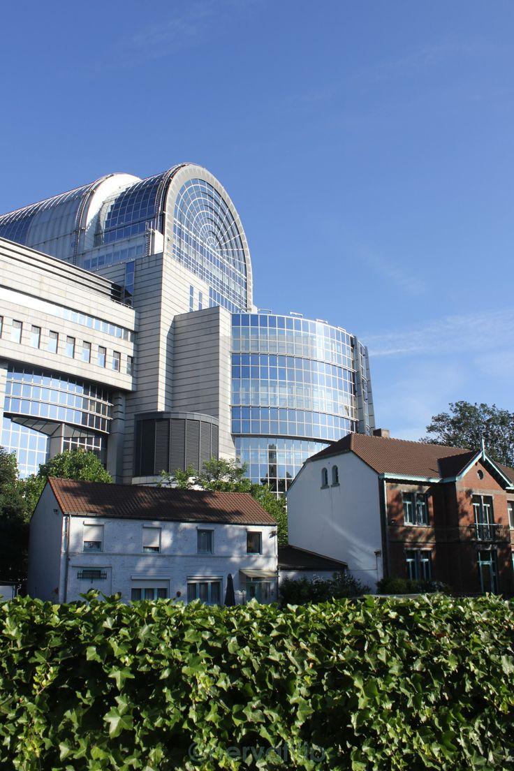 """Brussels, backside of the European Parliament building."" www.picfair.com/pics/european-parliament"