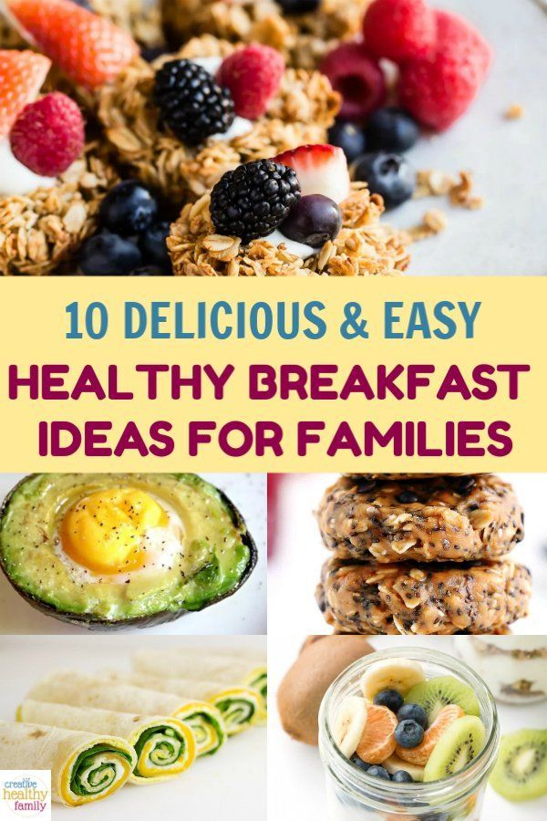 The Best Healthy Breakfast Ideas For Families Fun Healthy Breakfast Healthy Breakfast Recipes Easy Cooking Recipes