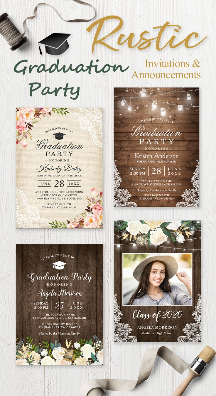 best graduation party invitation u photo announcements