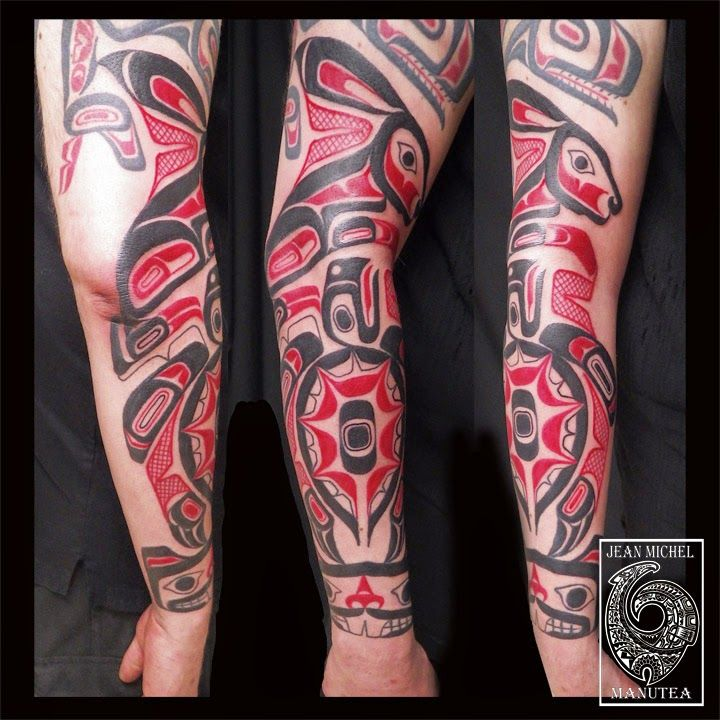 28 best motives images on pinterest native tattoos tribal tattoos and haida tattoo. Black Bedroom Furniture Sets. Home Design Ideas