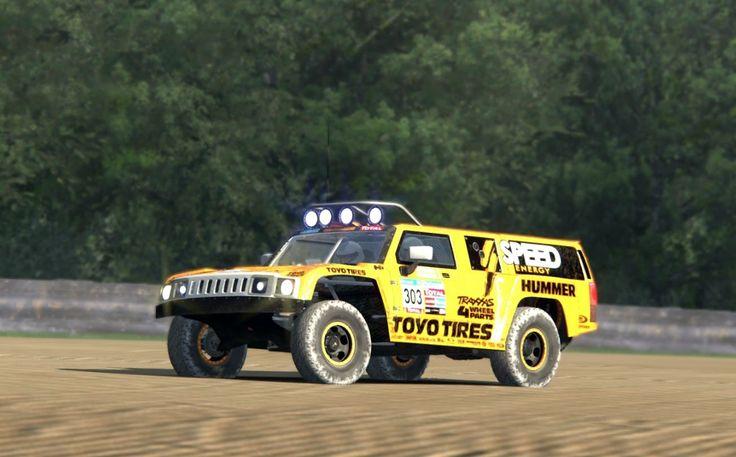 Assetto Corsa -  Hammer H3 T1 Dakar - Brands Hatch