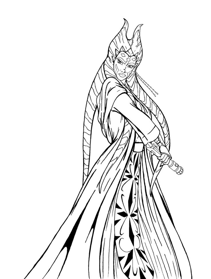 16 best star wars coloring pages & party fun images on pinterest Star Wars Aayla Secura Hot Aayla and Ahsoka Kiss Star Wars Aayla Secura Death