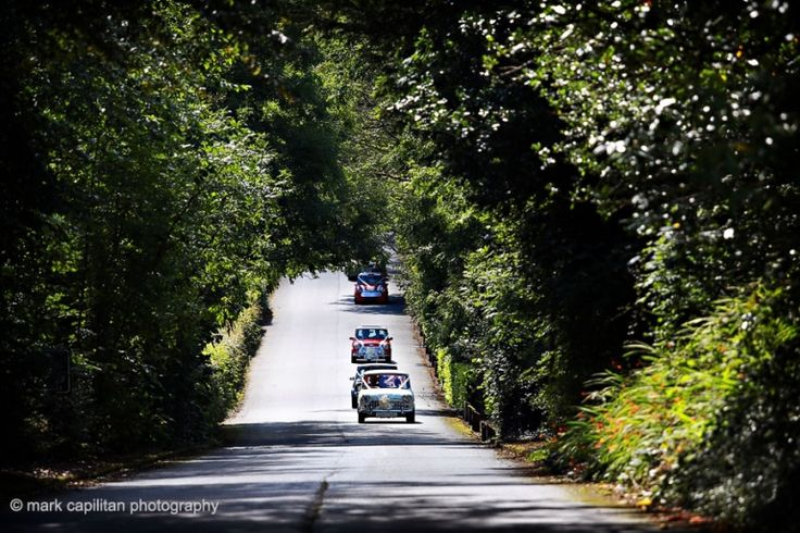 Classic car Minis Castle Dargan Ireland wedding photographer Sligo