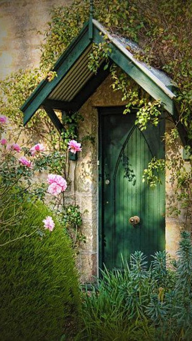 Lovely Cottage Door!