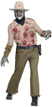 Sheriff Zombie Costume – Zombie Costumes « Mutant Faces