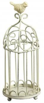 Vogelkäfig, 26 cm - Verspielter Deko-Vogelkäfig aus Eisen.Material: Eisen