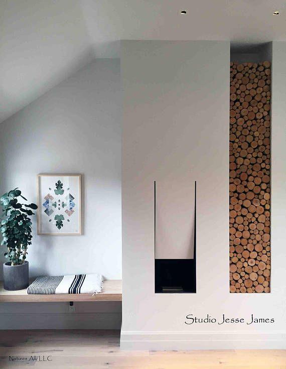 Empty Fireplace Decor Fill A Space Decorative White Birch