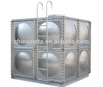 Lovely Drinking Water Storage Stainless Steel Tank