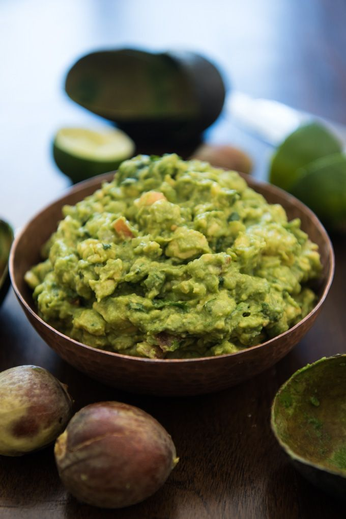 This chunky guacamole is easy. It's authentic. It's unbelievably, out-of-this-world, amazingly good. It's the best guacamole ever.
