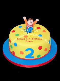 Pat-a-Cake Parties: Mr Tumble Cake