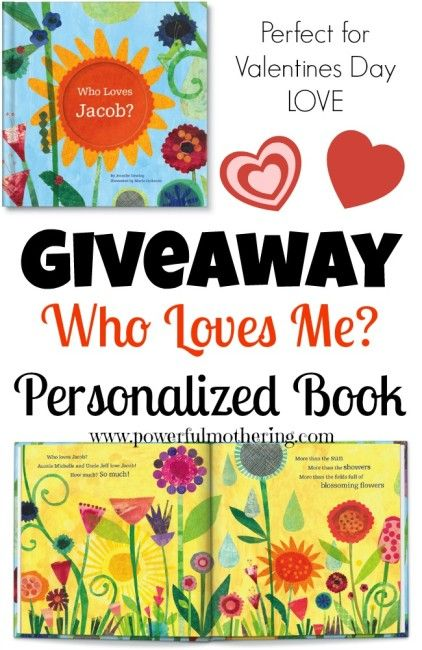 Who Loves Me? A Personalized Kids Book Giveaway!  @Nicci @ Powerful Mothering