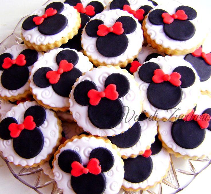 Die Besten 25 Minnie Maus Kekse Ideen Auf Pinterest