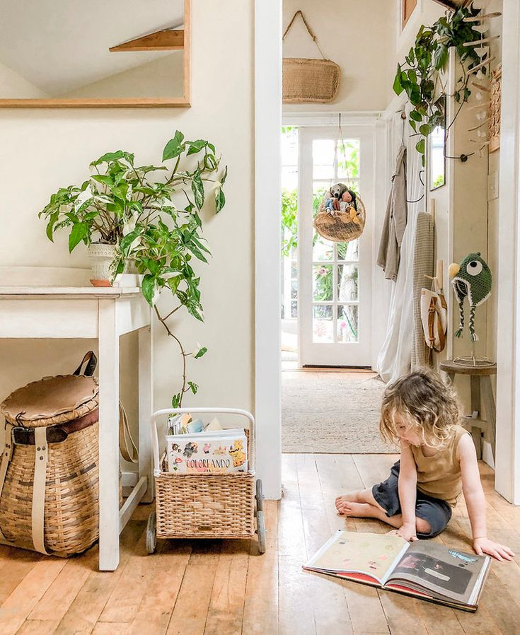 Sustainable Small Space Styling Feature | The Tiny Canal Cottage