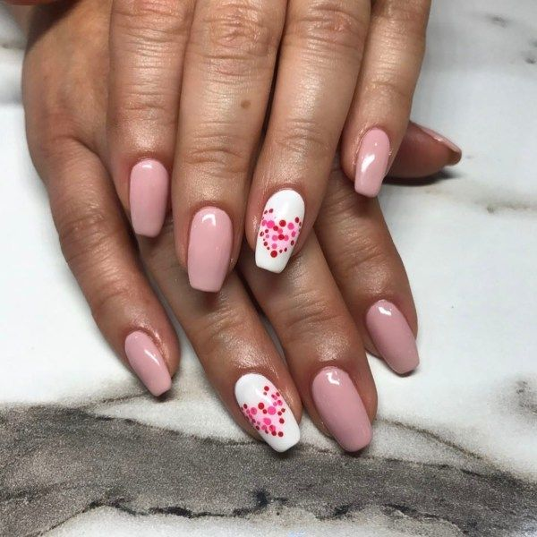 54 Valentines Day Nail Design And Nail Art Ideas Amerisha Beauty Valentine S Day Nail Designs Valentines Nails Valentine S Day Nails