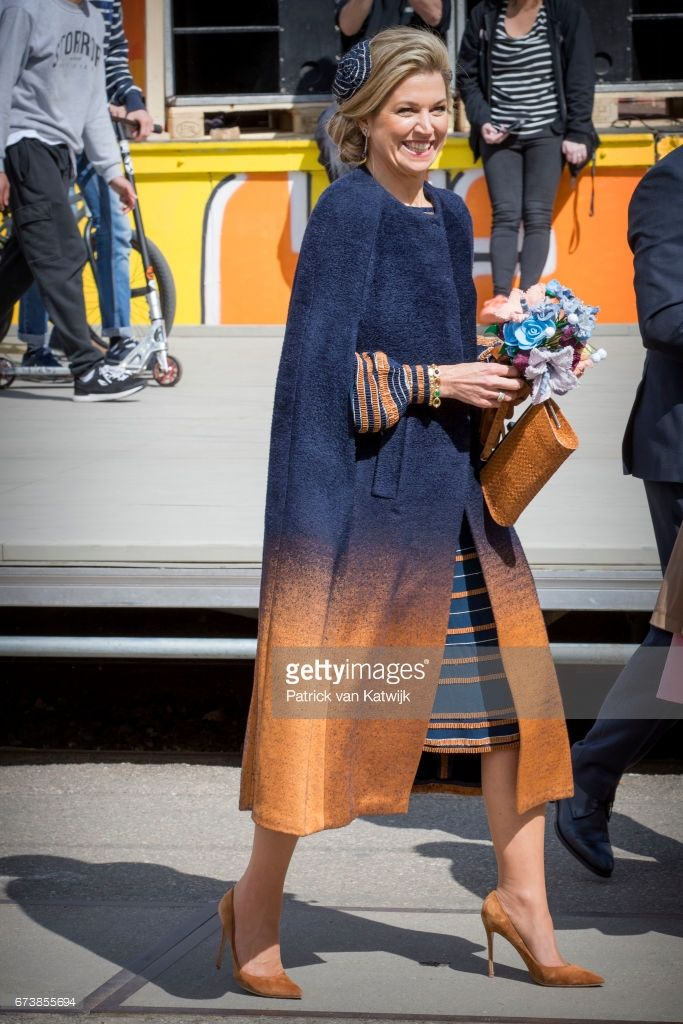 Queen Maxima attends the King's 50th birthday during the Kingsday celebrations on April 27, 2017 in Tilburg, Netherlands.