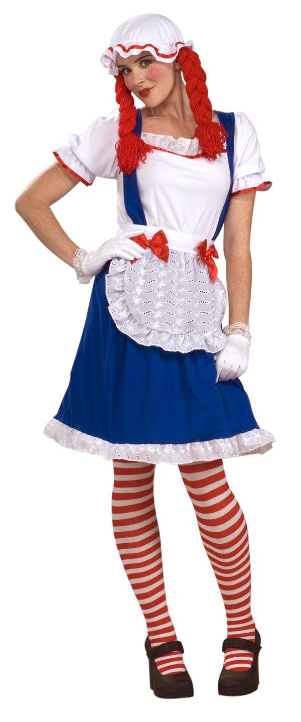 Disfraz de Raggedy Ann para mujer - DisfrazDisfrazcom