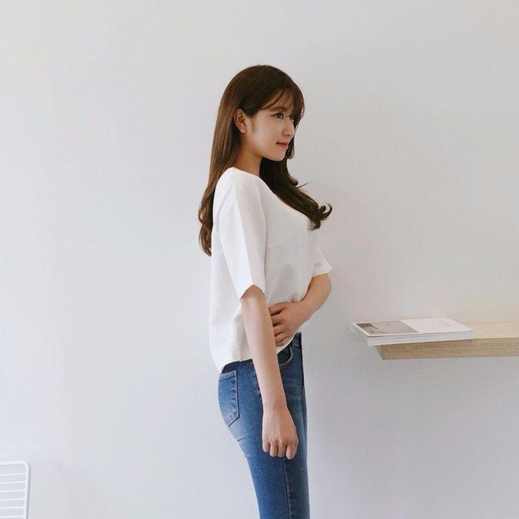 ♡バックストラップ半袖ブラウス♡ #レディースファッション #ファッション通販 #ファッショントレンド #新作 #最新 #モテ服 #韓国ファッション #韓国レディース通販 #ootd #wiw  #fashionaddict #womensfashion #fashion  https://goo.gl/qTSkma