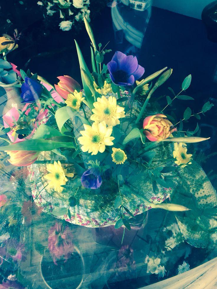 Lotty's flowers hat of flowers.