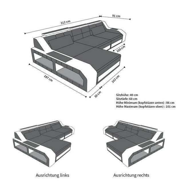 Ideal Möbel Boss Ecksofa Couch Furniture Home Decor