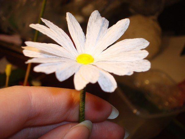 25 best images about flores papel crepe on pinterest - Como hacer manualidades de papel ...