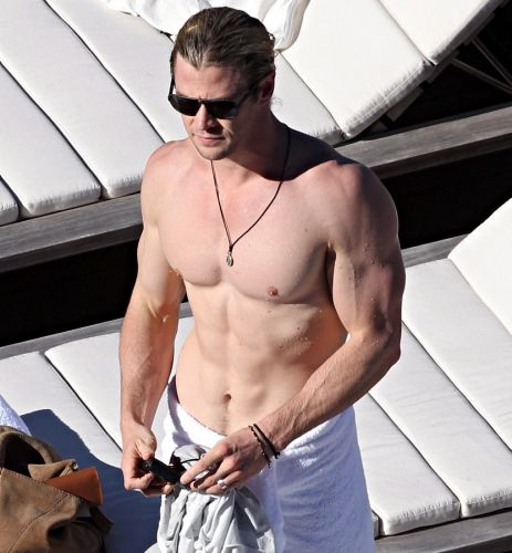 Chris Hemsworth - Australia breeds 'em hot down unda!