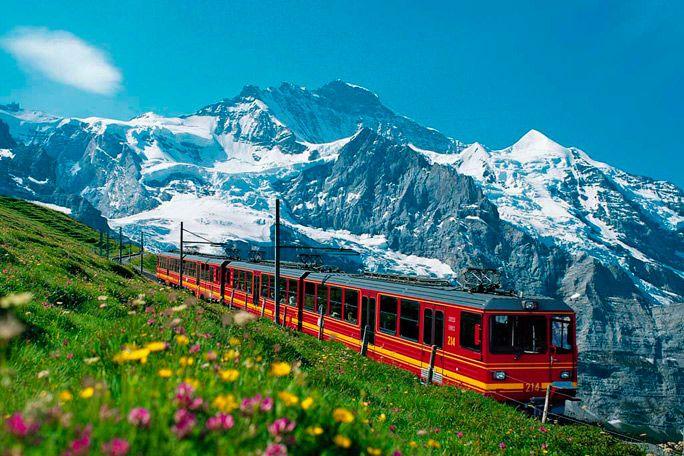 Los Alpes Suizos