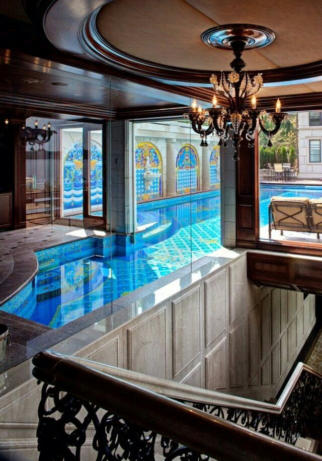 Luxury Homes With Indoor Pools 389 best indoor pools images on pinterest | indoor swimming pools