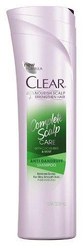 Clear Complete Scalp Care Anti-Dandruff Shampoo 12.9 oz