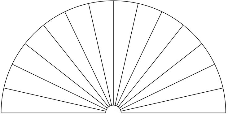 Dowsing Chart, 14 Pieces. You can use this picture to make your own Dowsing Chart, by adding any text or symbols you want.
