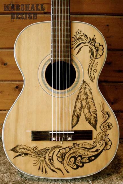 Guitar Henna on Behance