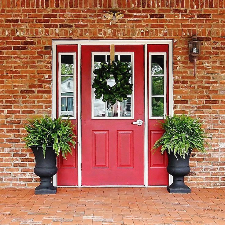 Paint Colors For Front Door: 118 Best Fabulous Paint Colors For Front Doors Images On