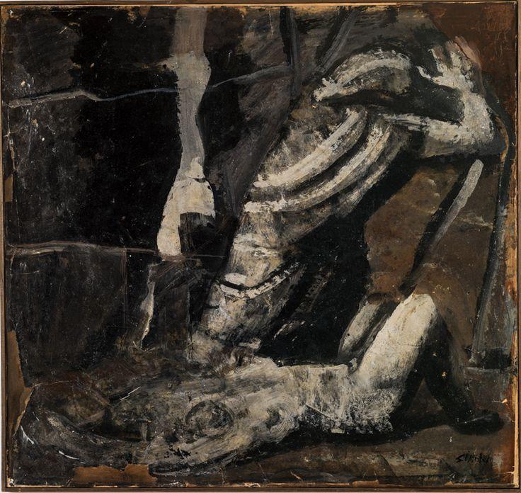 L'Angoscia (1939-40) Mario Sironi