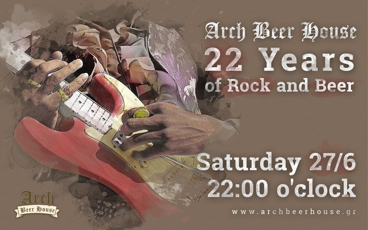 Arch 22nd birthday join https://www.facebook.com/events/430074050497929/