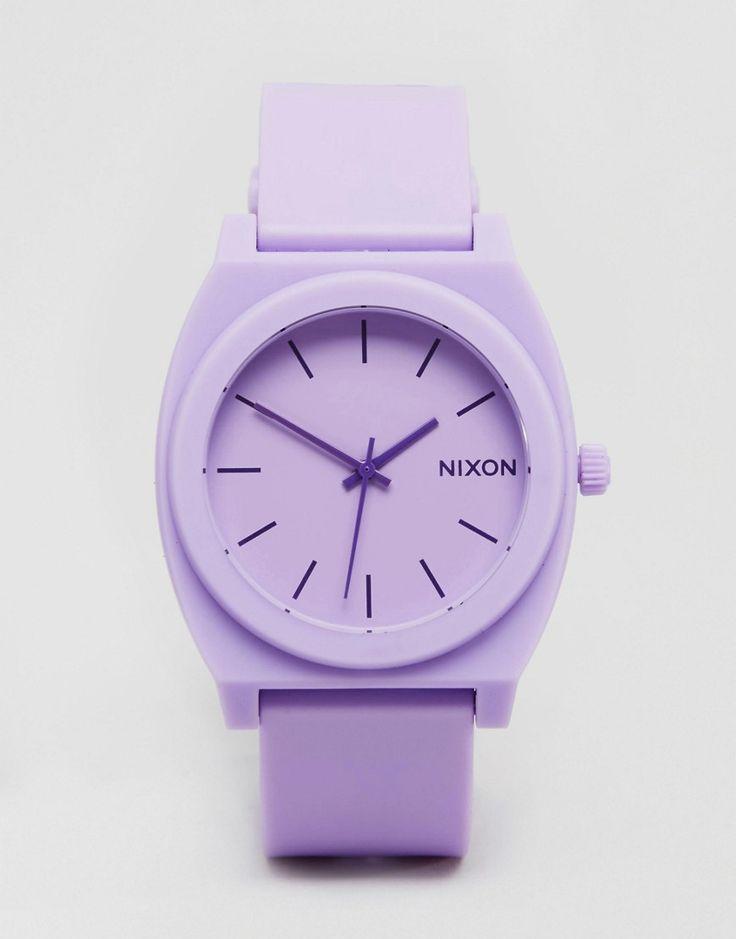 Nixon Pastel Violet Watch